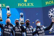 L'équipe Alpine signe un podium aux 24 heures du Mans 2021