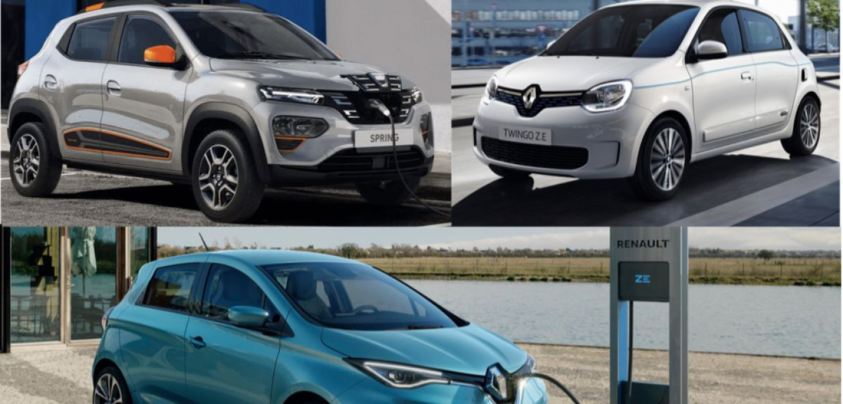 Dacia Spring, Renault Twingo et Zoé, le match des électriques du Groupe Renault