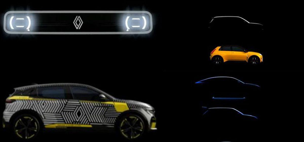 Quels sont les 10 nouveaux modèles prévus par le Groupe Renault ?