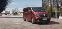 Nouveau look pour le Renault Trafic