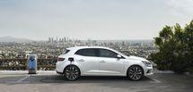 La Mégane berline passe désormais à l'hybride rechargeable