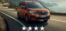 Sécurité: le nouveau Renault Kangoo obtient 4 étoiles aux crash-tests