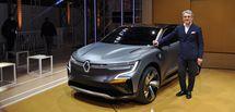 Renault eWays: la future Mégane déjà dévoilée
