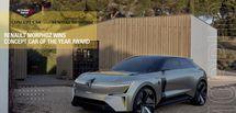 Le Morphoz remporte le prix du concept-car de l'année