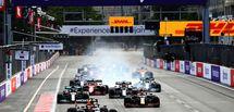 GP F1 Bakou : Sergio Pérez s'impose dans une course folle