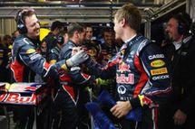 Première ligne 100% Red Bull Renault en Turquie