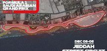 Découvrez le tracé du circuit urbain de Djeddah