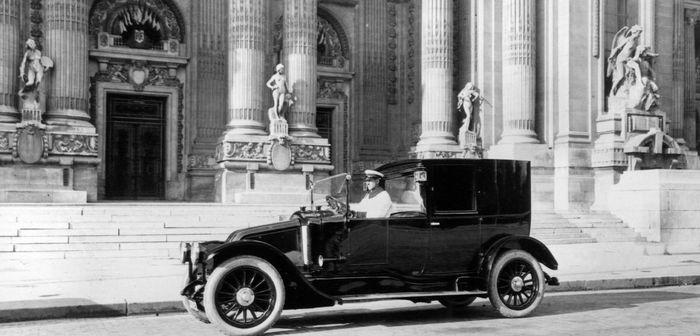 La 12CV dans les années 30