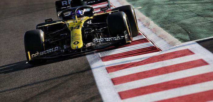 F1 : Alonso signe le meilleur temps des derniers essais de Renault F1