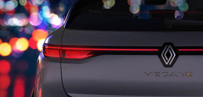 La prochaine Renault Mégane-e se dévoile légèrement