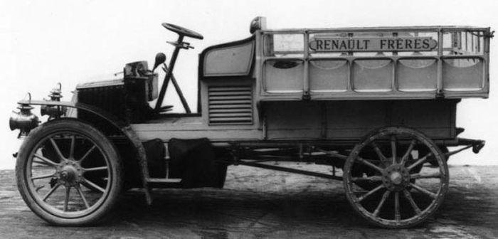 Les premiers camions 1906-1955