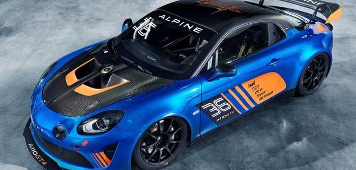 Alpine dégaine l'A110 GT4 dédiée à la compétition