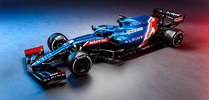L'A521 dévoilée par Alpine pour la nouvelle saison de Formule 1 2021