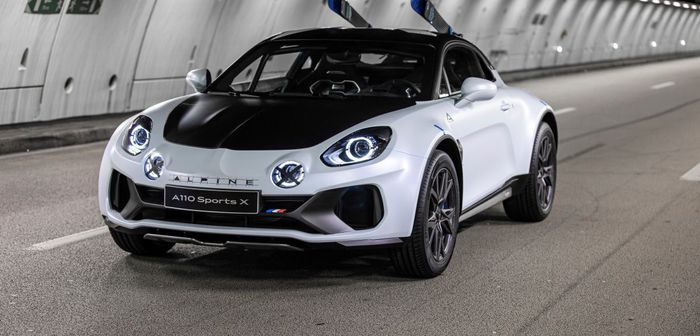 Alpine A110 SportsX (2020)