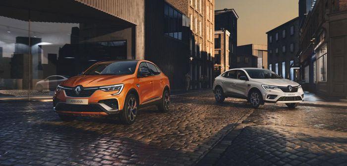 Nouveau Renault Arkana 2021