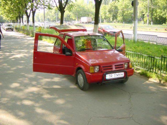 Les Dacia oubliées: 2000, 500 Lastun