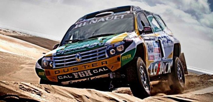 Le Duster engagé sur le Dakar 2014