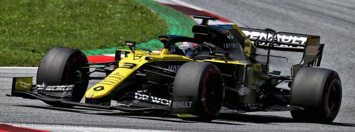 Grand Prix F1 d'Autriche: Renault se contente de la 8ème place