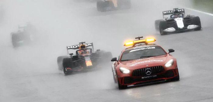 F1: Grand Prix de Belgique, un vainqueur sans course