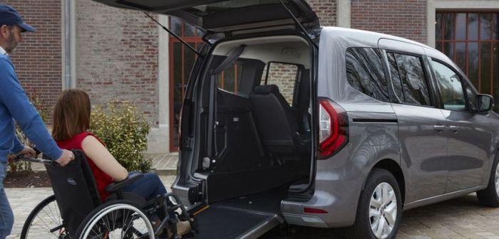 Le Nouveau Kangoo se dévoile pour les personnes à mobilité réduite
