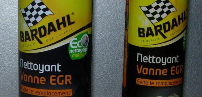 Nettoyant EGR: le kit Bardahl