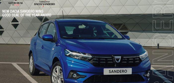 La Nouvelle Dacia Sandero caracole en tête des ventes du mois de juin