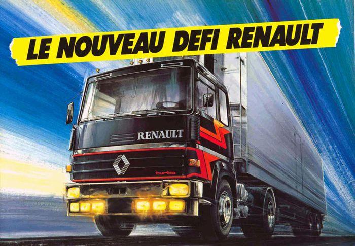 Berliet rejoint Saviem 1974 - 1992