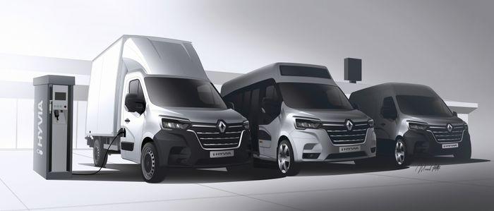 Le Renault Master à hydrogène bientôt disponible