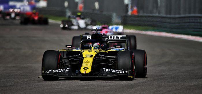 Grand Prix F1 de Russie: Renault 5ème et 7ème à Scotchi