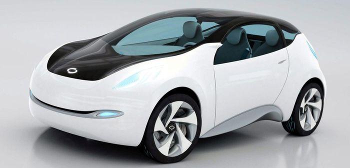 Renault-Samsung dévoile le concept-car eMX en Corée