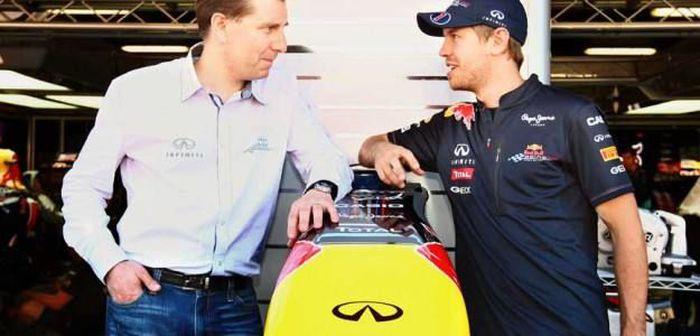 Sebastian Vettel, ambassadeur d'Infiniti
