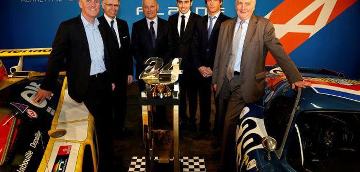 Renault confirme le retour d'Alpine en endurance