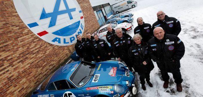 Renault engage l'Alpine A110 au Monte-Carlo