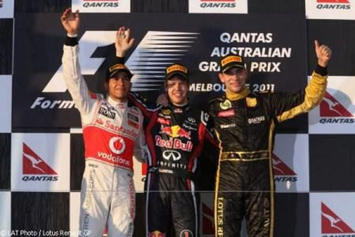 Victoire pour Redbull Racing Renault