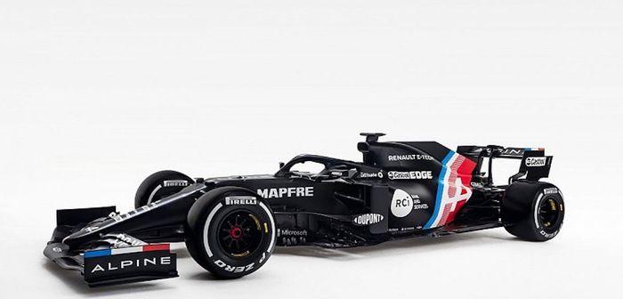 Alpine présentera sa monoplace en même temps que Mercedes