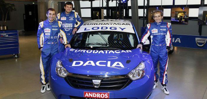 Lancement du Dacia Lodgy Glace à Val Thorens