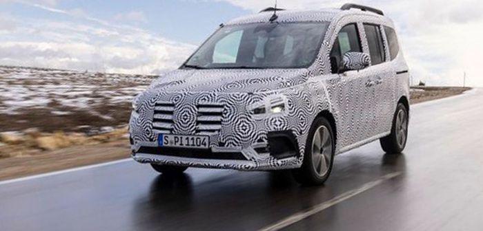Mercedes dévoile son utilitaire Citan aux allures de Renault Kangoo