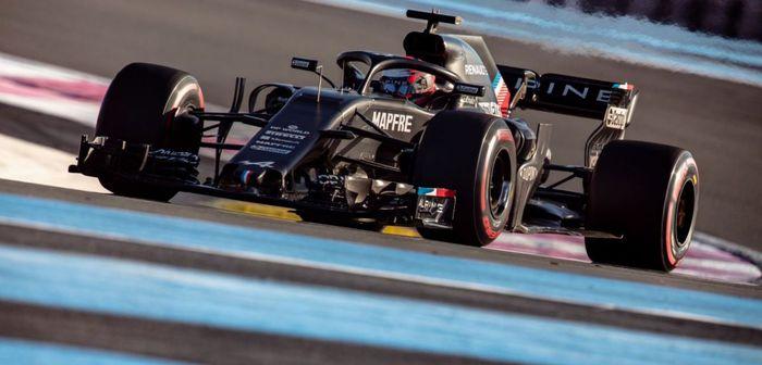 Esteban Ocon retrouve le volant d'une F1 au Paul Ricard
