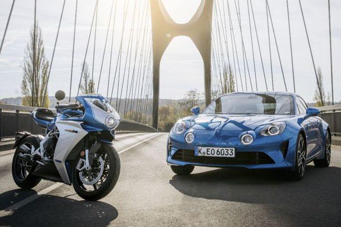MV Agusta s'associe à Alpine pour la production d'une moto
