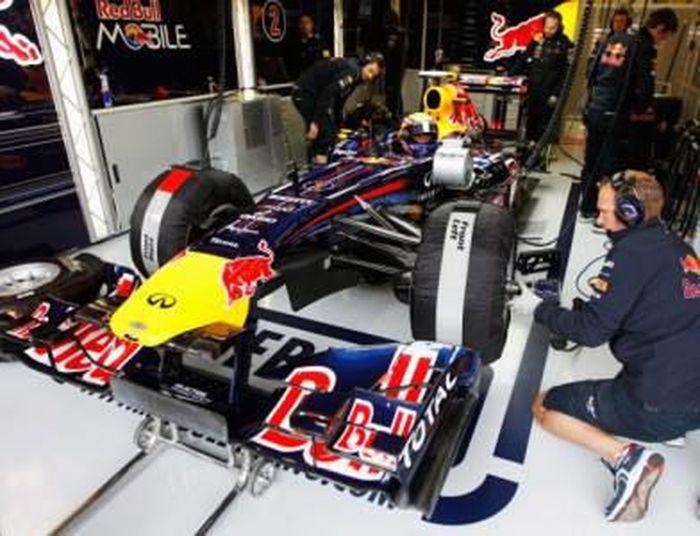 Journée inhabituelle pour Red Bull Racing