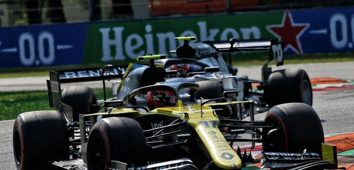 Grand Prix d'Italie: Renault rate le coche mais obtient de gros points