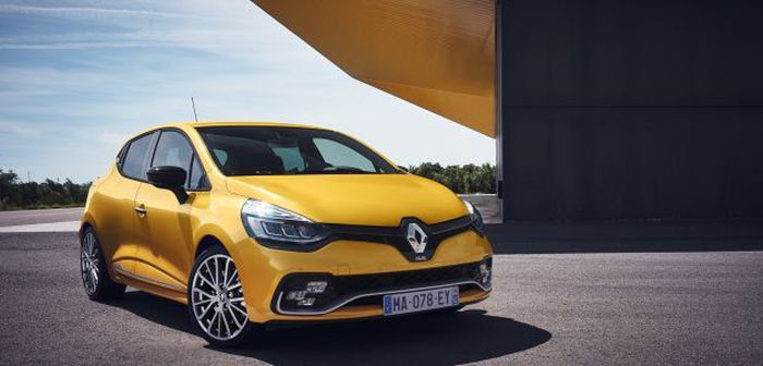 Clio 4 RS - RS Trophy restylée